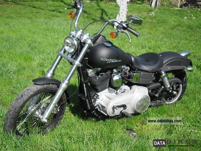 2009 Harley Davidson  FXDBI Dyna Street Bob Motorcycle Chopper/Cruiser photo