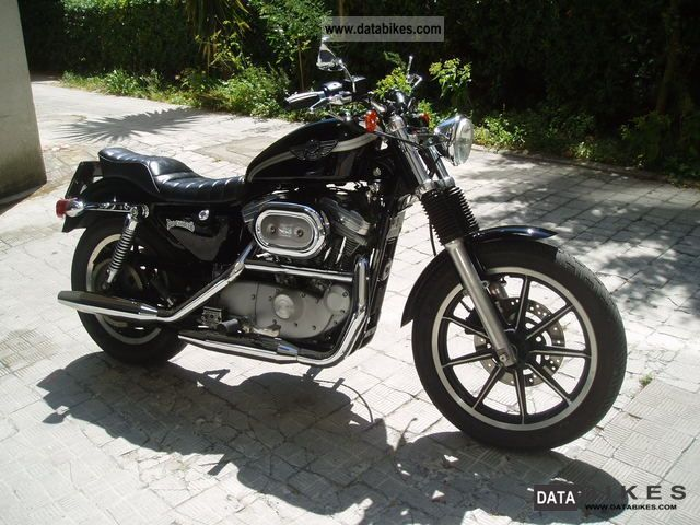 2004 Harley Davidson  harley-davidson sportster 883 Motorcycle Chopper/Cruiser photo