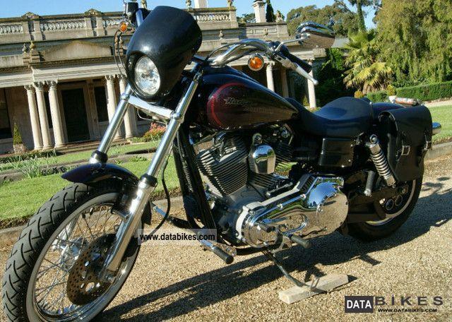 2005 Harley Davidson  Dyna Super Glide Motorcycle Chopper/Cruiser photo