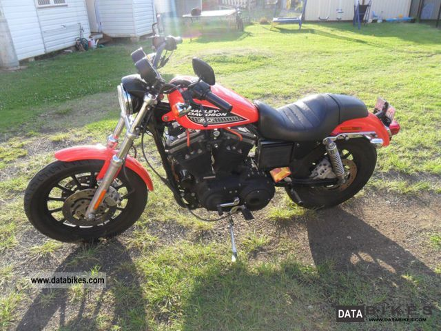 2002 Harley Davidson  Sportster XL883R Motorcycle Chopper/Cruiser photo