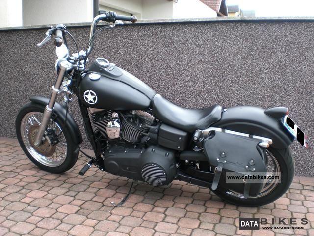 2007 Harley Davidson  Street Bob Motorcycle Chopper/Cruiser photo