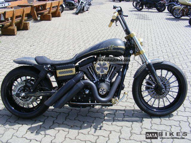 2007 Harley Davidson  FXDB Street Bob complete conversion Motorcycle Chopper/Cruiser photo