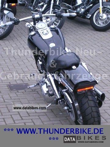 2011 Harley Davidson  -Later Dyna Fat Bob - vehicle accident - Thunderbike Motorcycle Chopper/Cruiser photo