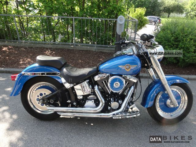 1997 Harley Davidson  Softail Fat Boy Motorcycle Chopper/Cruiser photo