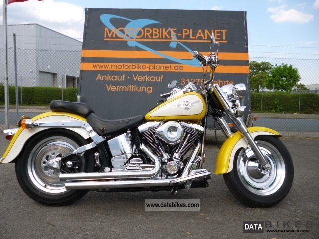 1996 Harley Davidson  Fat Boy Evo Model 1997 Motorcycle Motorcycle photo
