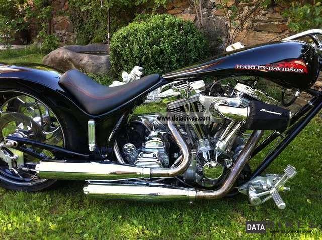 2001 Harley Davidson  Softail Motorcycle Chopper/Cruiser photo