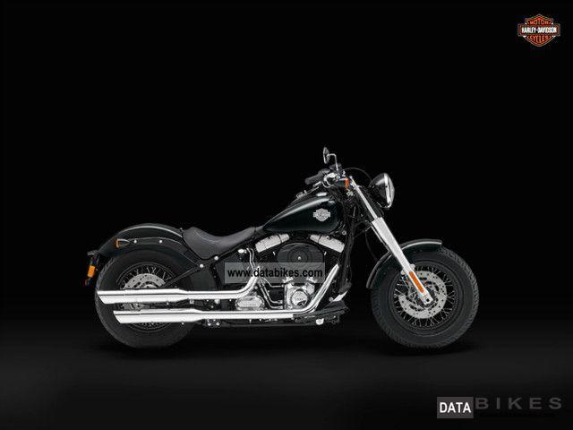 2011 Harley Davidson  FLS Softail Slim 103 Ricks Motorcycle Chopper/Cruiser photo