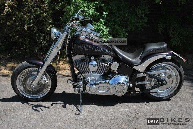 2001 Harley Davidson  Softail 2600 km ** only ** I.Hand like new Motorcycle Chopper/Cruiser photo