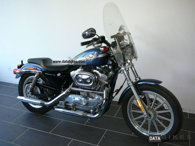 2002 Harley Davidson  XL 883 Sportster 100 years * Special Edition * Motorcycle Chopper/Cruiser photo