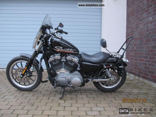 2010 Harley Davidson  Sportster XL 1200N Nightster Motorcycle Chopper/Cruiser photo