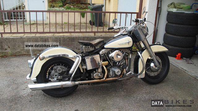 1978 Harley Davidson  FLH Motorcycle Chopper/Cruiser photo