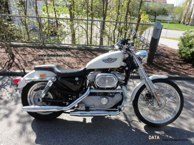 2003 Harley Davidson  XL883C Motorcycle Chopper/Cruiser photo