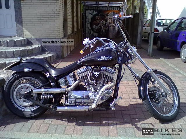 1999 Harley Davidson  HDs.u.e lahr Motorcycle Chopper/Cruiser photo