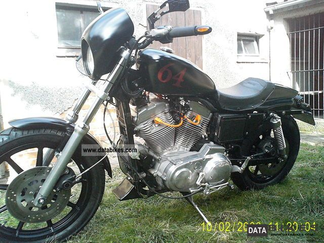 1998 Harley Davidson  XL Sportster Motorcycle Sports/Super Sports Bike photo