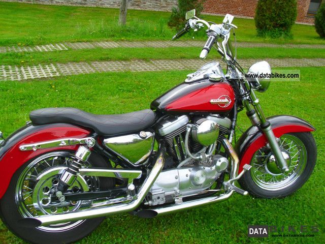 1994 Harley Davidson  XLH 1200 Motorcycle Chopper/Cruiser photo