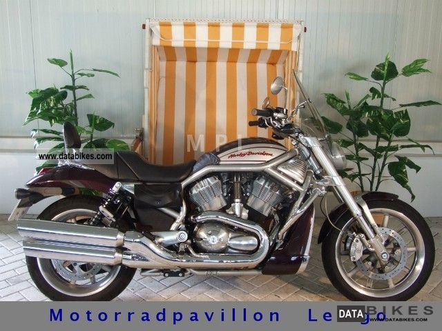 2005 Harley Davidson  V-Rod Street Rod VRSCR ACCESSORIES + + TUV InspektionNEU Motorcycle Chopper/Cruiser photo