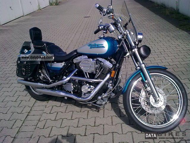 1994 Harley Davidson  FXLR Motorcycle Chopper/Cruiser photo