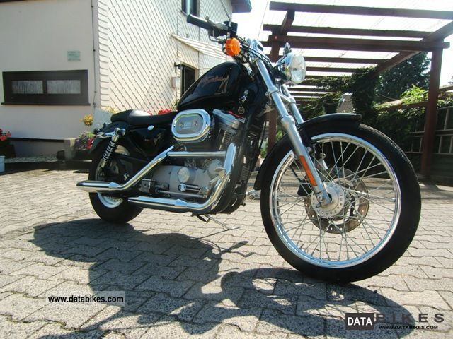 2000 Harley Davidson  Sportster 883 Custom Motorcycle Chopper/Cruiser photo