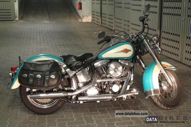 1992 Harley Davidson Heritage Softail Motorcycle