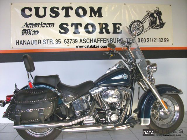 2002 Harley Davidson  Softail Heritage Classic FLSTCI only 19,987 km Motorcycle Chopper/Cruiser photo