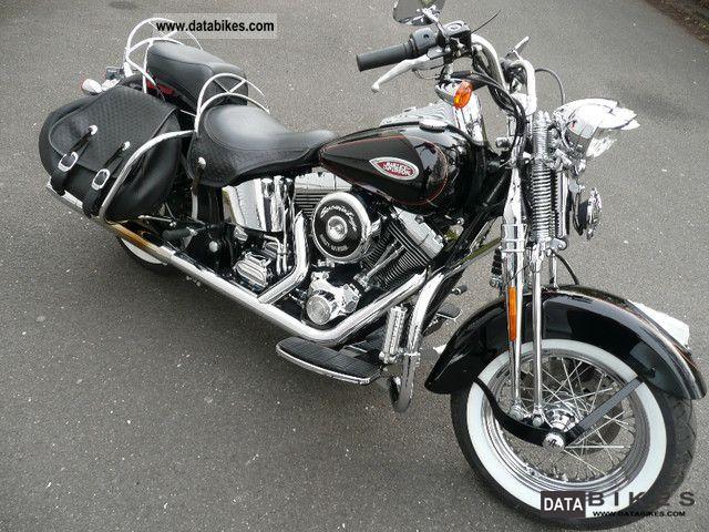 Harley Davidson  FLSTS Heritage Softail Springer Classic carburetor 2002 Chopper/Cruiser photo
