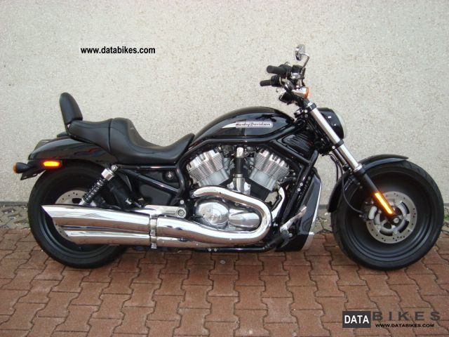 2004 Harley Davidson  V Rod Black Injection Motorcycle Chopper/Cruiser photo