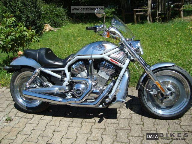 2003 Harley Davidson  V Rod Dyna Jet ALUMINUM Anniversary Special Edition Motorcycle Chopper/Cruiser photo