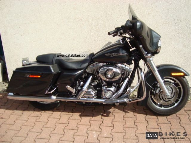 2009 Harley Davidson  Street Glide Black Pearl Special paint Motorcycle Chopper/Cruiser photo