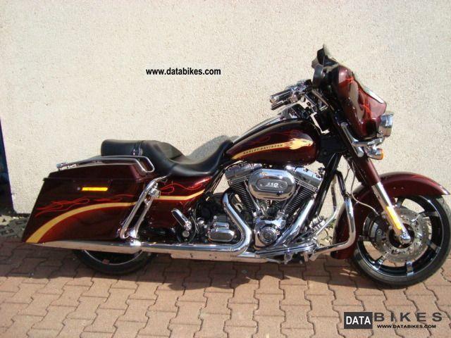 2011 Harley Davidson  Street Glide CVO Screamin Eagle Ultra ABS optics Motorcycle Chopper/Cruiser photo