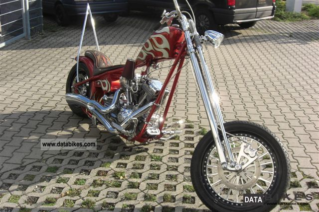 2006 Harley Davidson  Starr Softail frame with unique world award Motorcycle Chopper/Cruiser photo