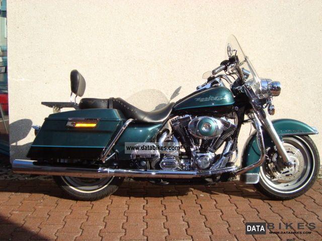 2001 Harley Davidson  Road King Two Tone hard case Motorcycle Chopper/Cruiser photo