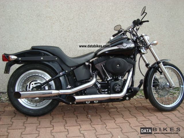 Harley Davidson  Night Train Anniversary Black 2002 Chopper/Cruiser photo