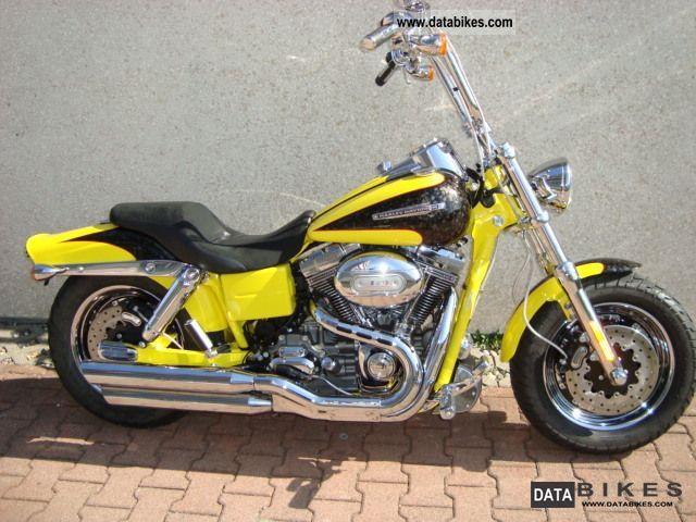 2009 Harley Davidson  Dyna Fat Bob CVO Screamin Eagle Mod 2010 Motorcycle Chopper/Cruiser photo