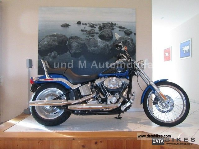 2007 Harley Davidson  FXSTC Softail Custom Motorcycle Chopper/Cruiser photo