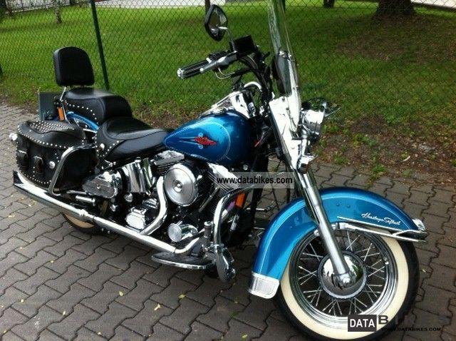 1994 Harley Davidson  FLSTC Heritage Softail Classic Motorcycle Chopper/Cruiser photo
