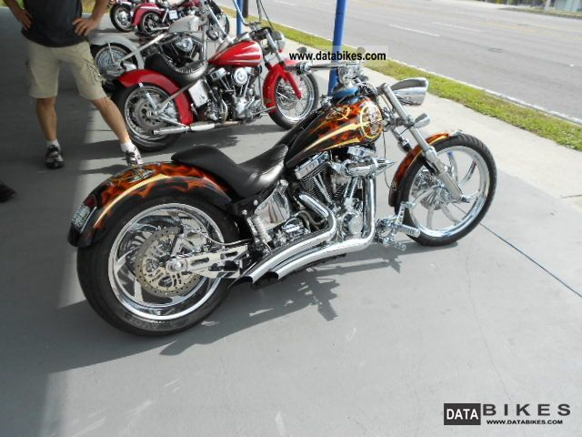 1989 Harley Davidson  Softail - FXST Motorcycle Chopper/Cruiser photo