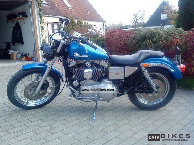 1991 Harley Davidson  XLH 1200 Sportster Motorcycle Chopper/Cruiser photo
