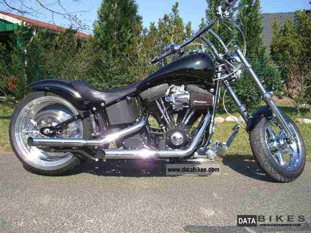 2010 Harley Davidson  Custom Softail Motorcycle Chopper/Cruiser photo