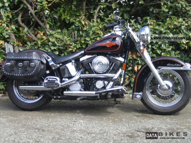 1993 Harley Davidson  FLSTC Motorcycle Chopper/Cruiser photo