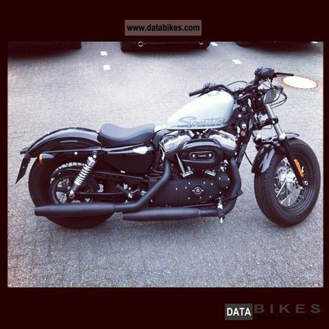 2011 Harley Davidson  X XL1200 Sportster 48 Motorcycle Chopper/Cruiser photo
