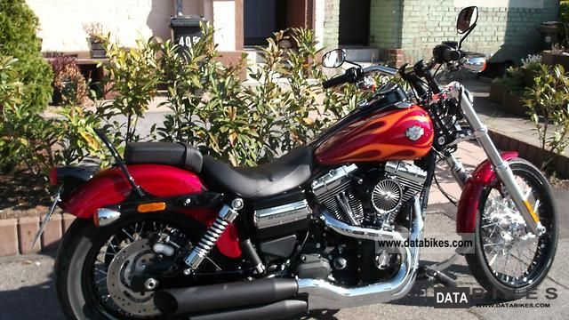 2012 Harley Davidson  FXDWG Dyna Glide game Motorcycle Chopper/Cruiser photo