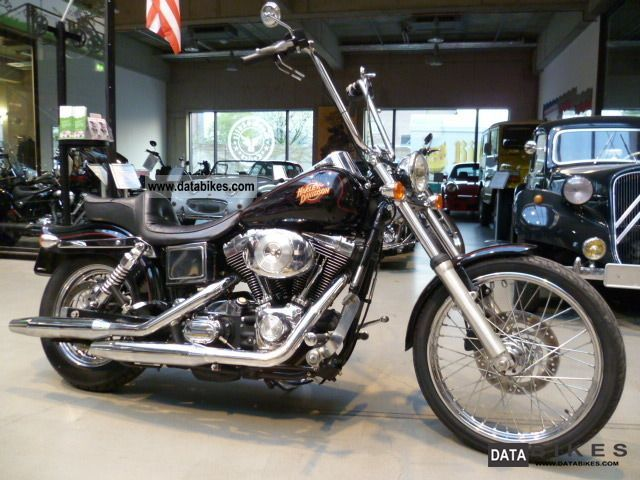2001 Harley Davidson  FXDWG Motorcycle Chopper/Cruiser photo