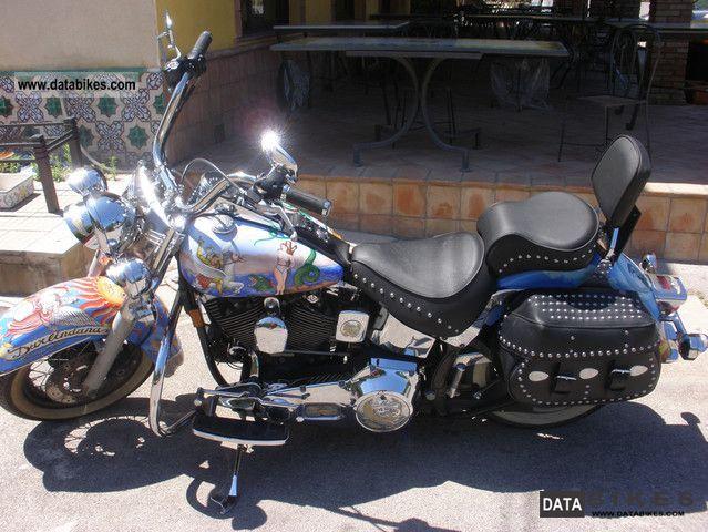 1997 Harley Davidson  vendo harley unica decorata a mano Motorcycle Motorcycle photo