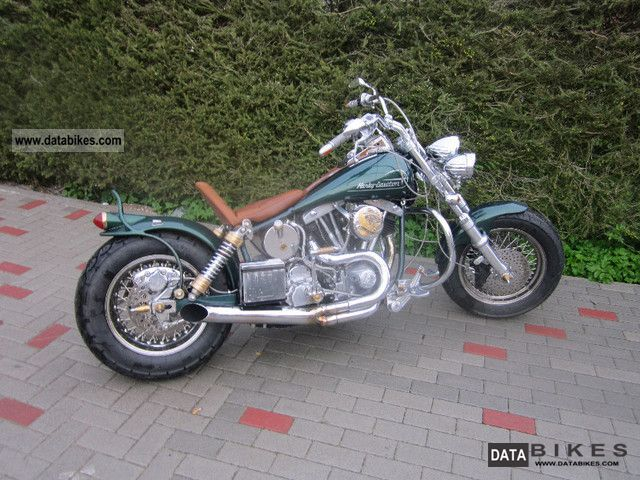 Harley Davidson  Fl 1338 engine 4423 KM TOTAL CONVERSION E-STARTER 1958 Vintage, Classic and Old Bikes photo