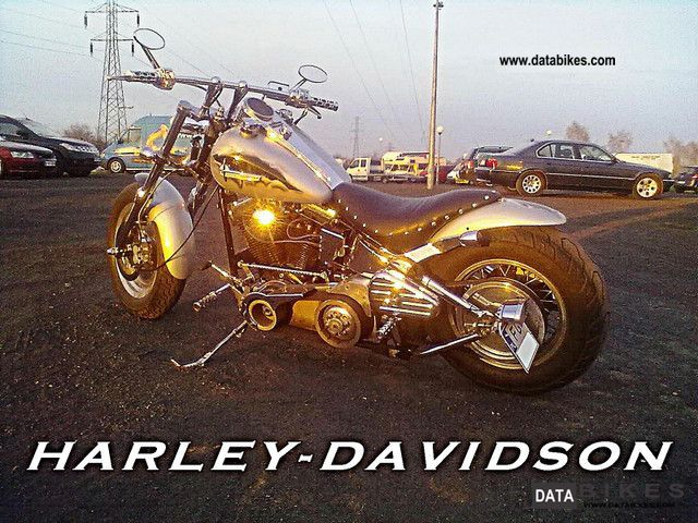 Harley Davidson  Softail - AEROGRAFY! 2009 Chopper/Cruiser photo