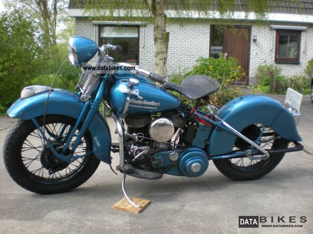 Harley Davidson  WLC 750 1943 Vintage, Classic and Old Bikes photo