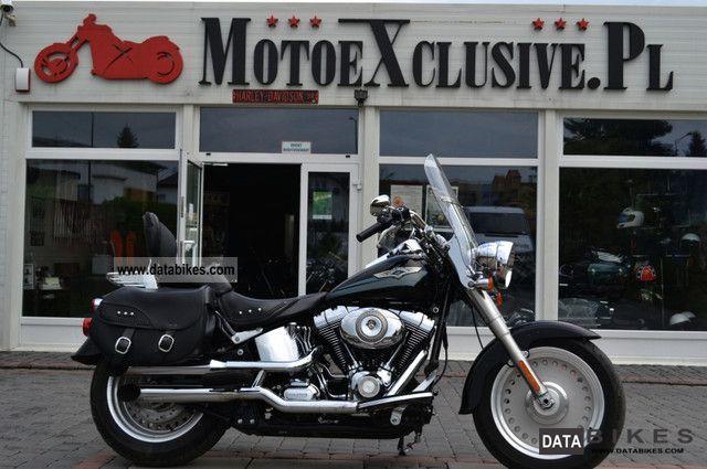 2008 Harley Davidson  FLSTF FAT BOY Motorcycle Chopper/Cruiser photo