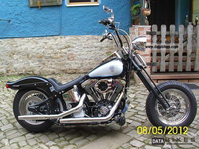 1997 Harley Davidson  FLSTS Softail TUV NEW Motorcycle Chopper/Cruiser photo