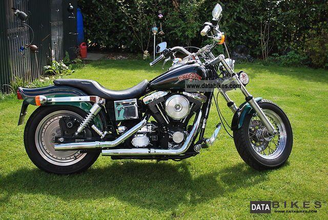 1994 Harley Davidson  FXDWG Dyna Wide Glide Motorcycle Chopper/Cruiser photo