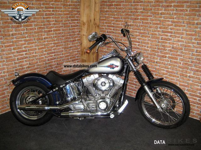 2002 Harley Davidson  FXST Softail Stndard Motorcycle Chopper/Cruiser photo